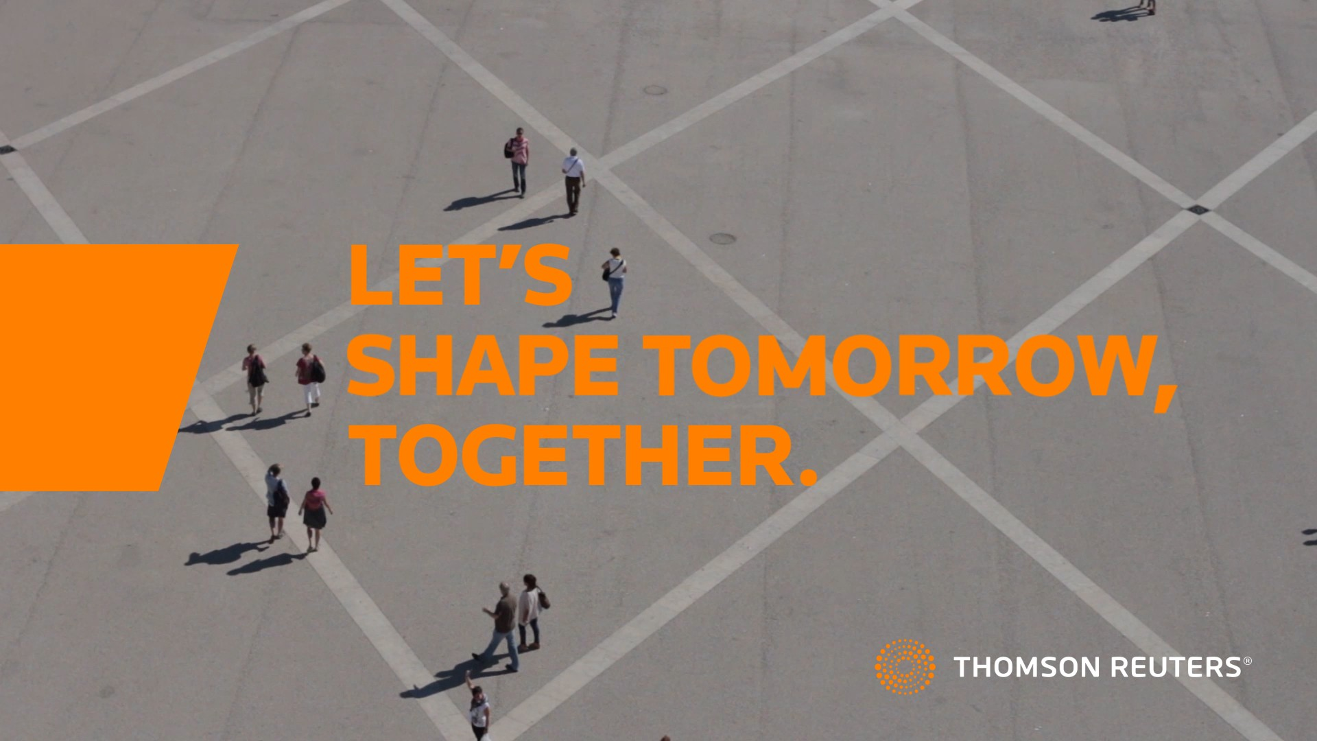 Let's shape tomorrow, together